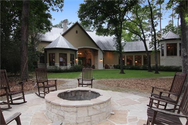 Impressive Austin Chalk Stone Estate Luxury Homes For