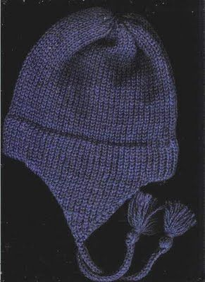 Marzipanknits: Free Pattern for child's earflap hat on the midgauge