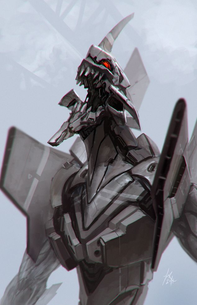EVA 01 by *ArtMagix on deviantART