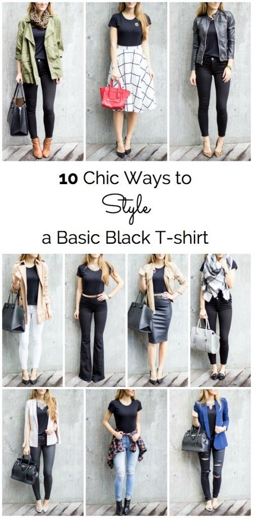 17 Best ideas about Black Tees on Pinterest | Plain black, Black ...