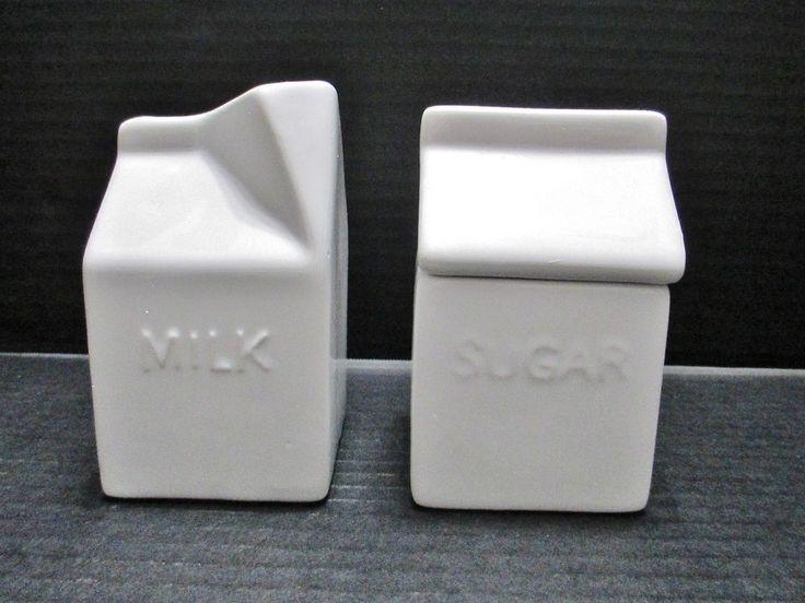 Avon Figural Cream & Sugar Set White Ceramic Original Box New Old Stock #Avon..... Visit all of our online locations..... www.stores.ebay.com/ourfamilygeneralstore ..... www.bonanza.com/booths/Family_General_Store ..... www.facebook.com/OurFamilyGeneralStore