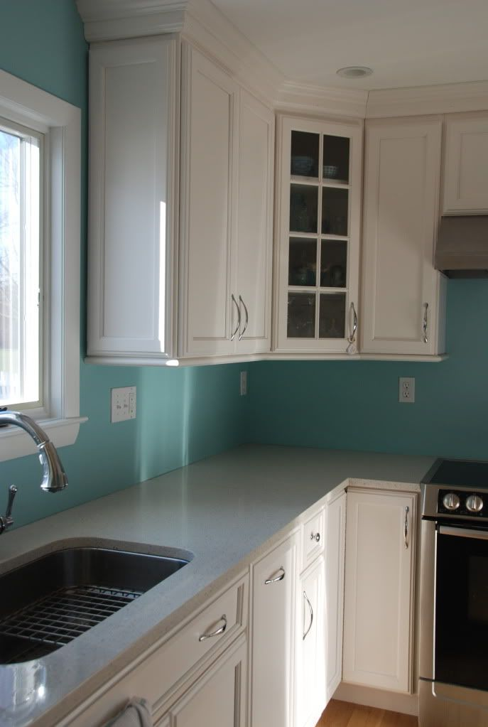 1000 images about farrow ball blue ground 210 on for Kitchen colours with white cabinets