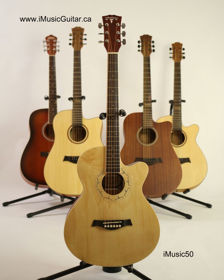 On sale ! Brand new ! Acoustic Guitar for Beginners online guitar store Natural iMusic50