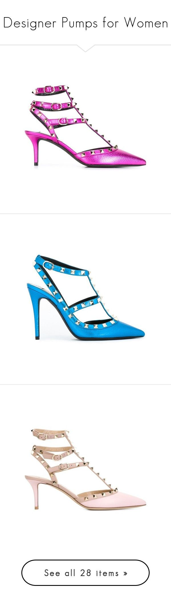 """""""Designer Pumps for Women"""" by modalist ❤ liked on Polyvore featuring shoes, pumps, stiletto pumps, ankle strap stilettos, purple pumps, ankle strap shoes, purple shoes, high heel stilettos, stilettos shoes and blue pointed toe pumps"""