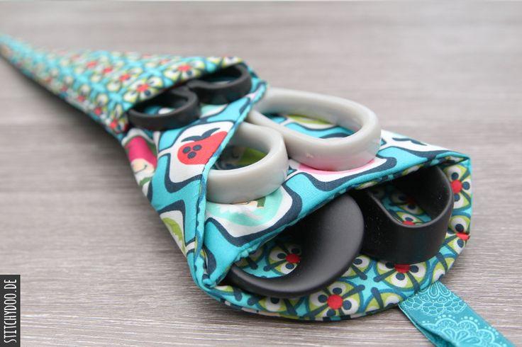 stitchydoo: DIY Nähutensilien | Scherentasche