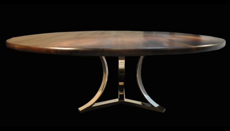 33 best images about metal base for round granite kitchen table on pinterest industrial - Kitchen table bases ...
