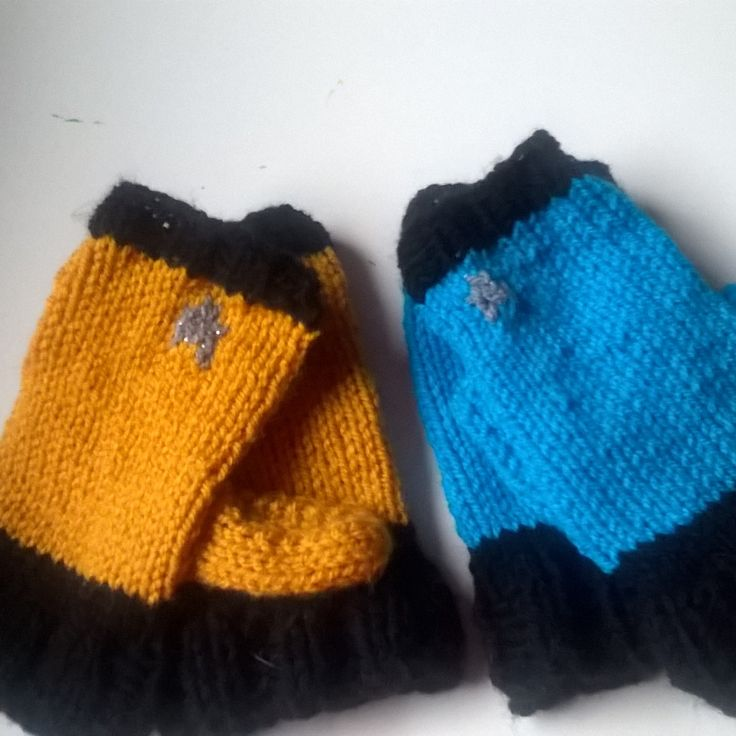Starfleet issued mittens