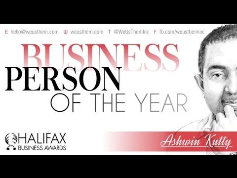 Ashwin Kutty Named Business Person of the Year - YouTube