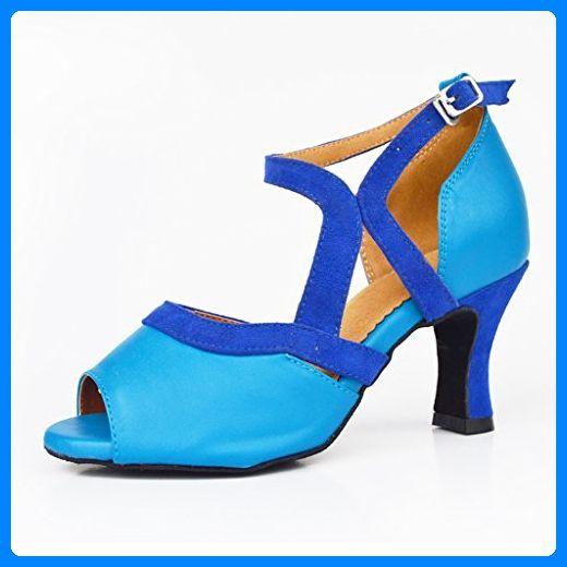 Meijili , Damen Tanzschuhe, blau - blau - Größe: 36.5 - Sportschuhe für frauen (*Partner-Link)