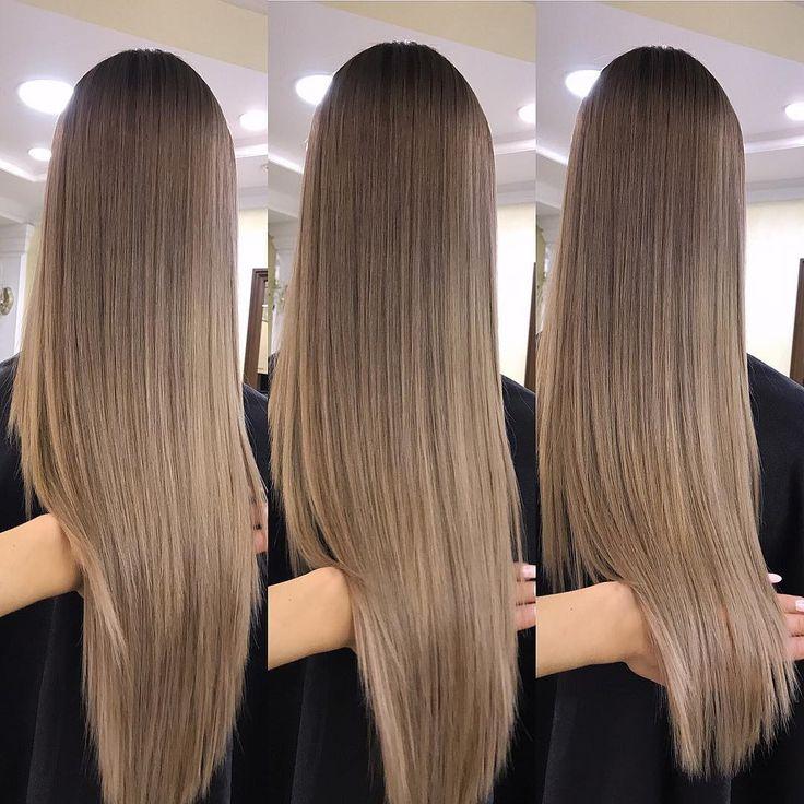 Kald lys brun hårfarge