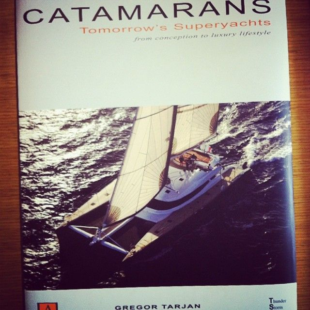 Volitan is featured in Catamarans By Gregor Tarjan!  Dr. Hakan Gürsu / Designnobis