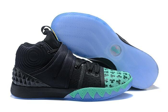 "sports shoes b145c 3ce6a Nike Kyrie S1 Hybrid ""Celtics"" PE Shamrock Black Green Gold   Air Jordans  2018"