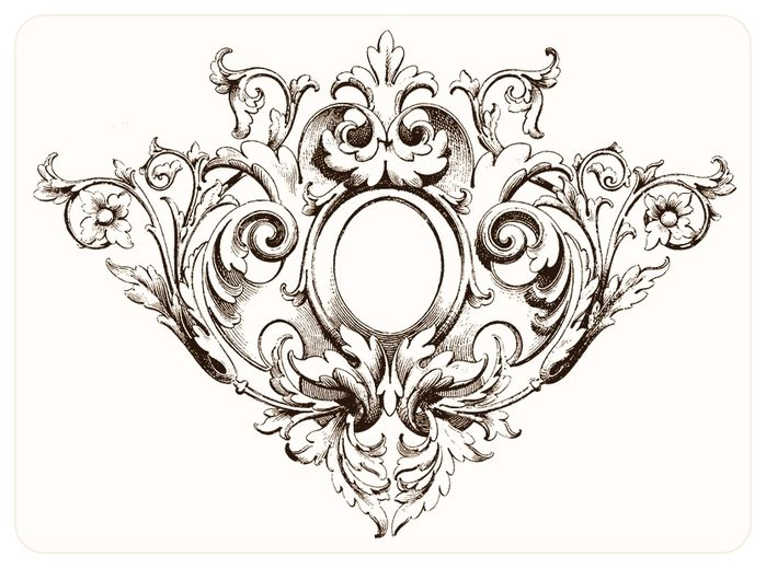 174 Best Images About Filigree / Acanthus On Pinterest