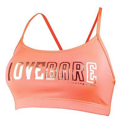 Running Bare Women's Sports Back Crop Top