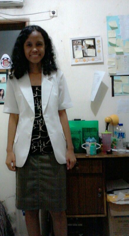 Your future doctor.. Half way to be a doctor. God bless