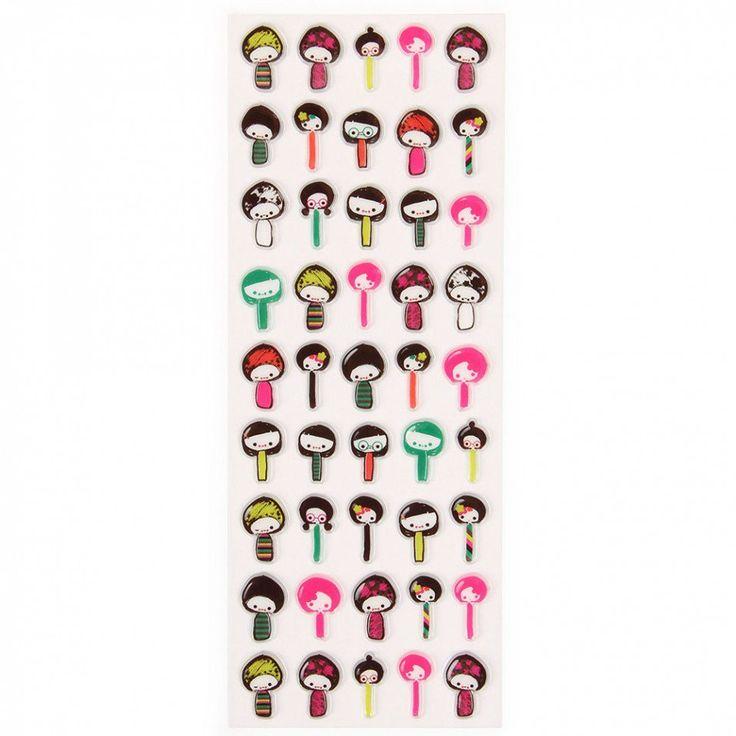 Jilly dolls stickers