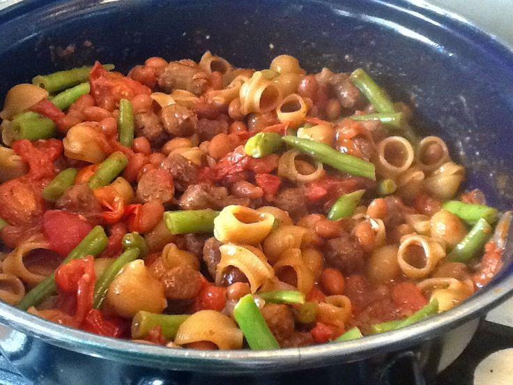 Uit mijn keukentje: Italiaanse Bonen Stoofschotel