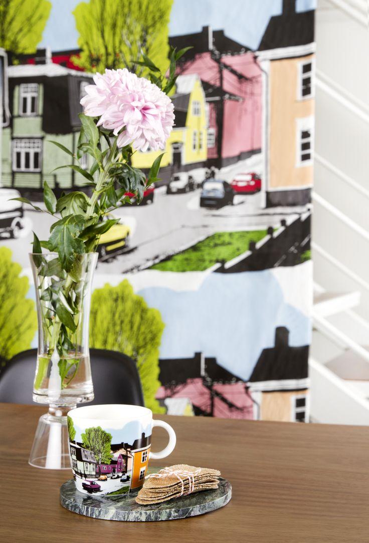 Vallila Interior SS15 collection  Vallila Suvannontie by Tanja Orsjoki