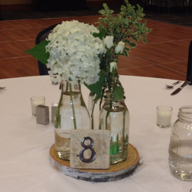 Milk Bottle Centerpieces Milk Bottle Centerpiece Jar