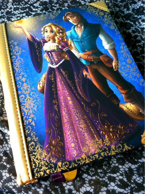 Tangled Rapunzel and Flynn Rider Journal, Disney Fairytale Designer Collection