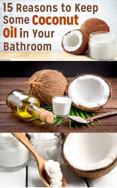15 reasons why you should keep organic, extra-virgin coconut oil in the bathroom. Deep Condition your Hair You can use coconut oil instead of your customary conditioner, which is full of chemicals. So, you should add 1 tablespoon of coconut oil to your roots, and then massage it down toward the ends of your hair. …
