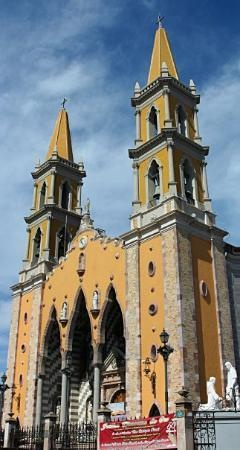 Attended service with family at the Basilica in Mazatlan, Mexico