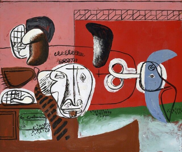 Charles-Edouard Le Corbusier (1887-1965) Taurus 1956
