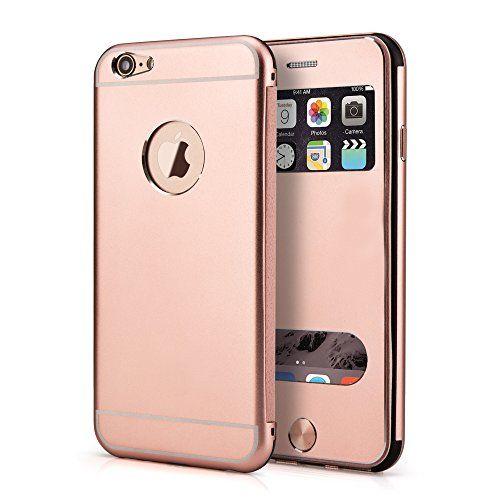 PhoneStar High End Aluminum Apple iPhone 6, 6s Schutz Hülle Flip-Cover mit Sichtfenster CNC gefräst - rosé gold https://www.amazon.de/dp/B01M28JP7N/ref=cm_sw_r_pi_dp_x_PJjhyb9AZPQ15 #PhoneStar #highend #Aluminum #Apple #iPhone6 #Hülle #Flipcover #CNC #roségold