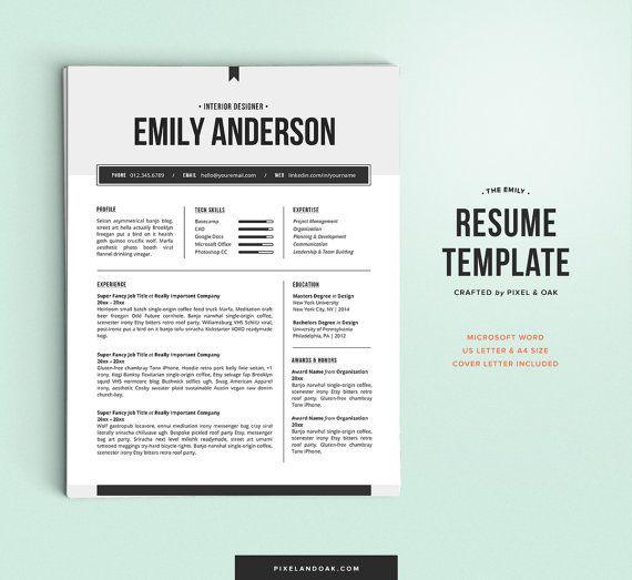 45 best Resumes images on Pinterest Resume design, Resume - professional resume paper