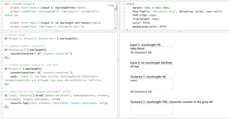 How to count characters of textarea or text input in JS / jQuery? It's so simple!