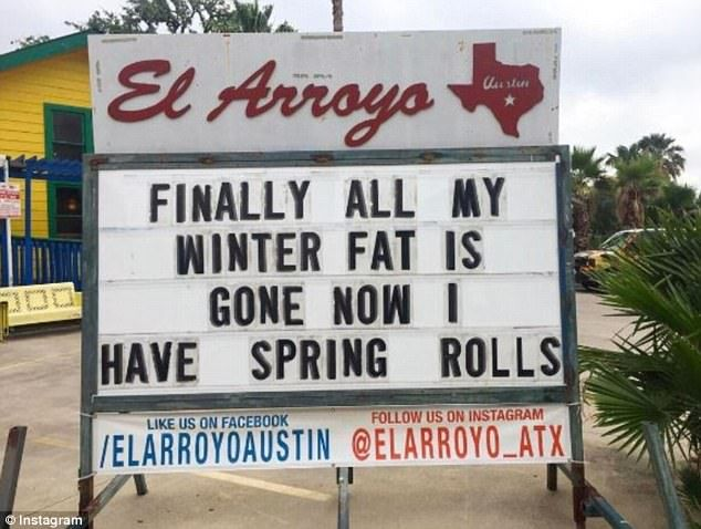 Best El Arroyo Images On Pinterest Texas Forever Austin - The internet cant get enough of this texan restaurants hilarious signs