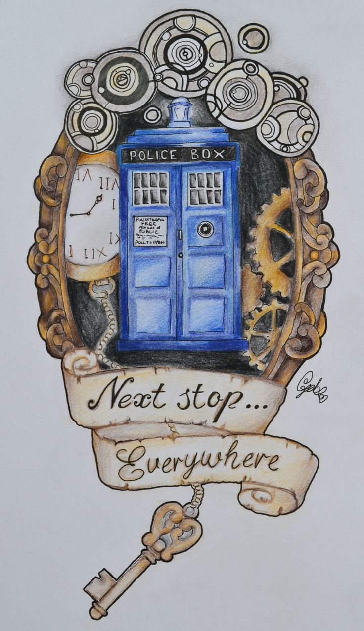 TARDIS by Lady Gabe