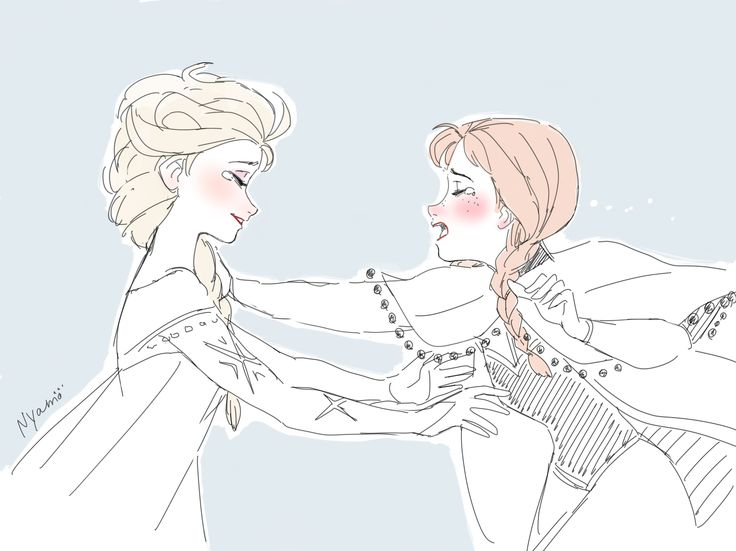 esa sketches frozen anna and sisters - photo #41