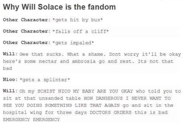 Yeah, Will represents the PJO fandom really well. xD