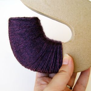 Could prob figure this out on my own, but jic I need direction....yarn wrapped letters tutorial.