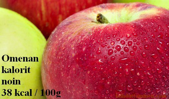 apple calories