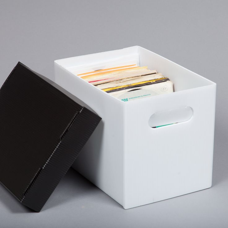 Our 45 Rpm Record Storage Bo Are Designed To Properly Hold 7 Vinyl Records In