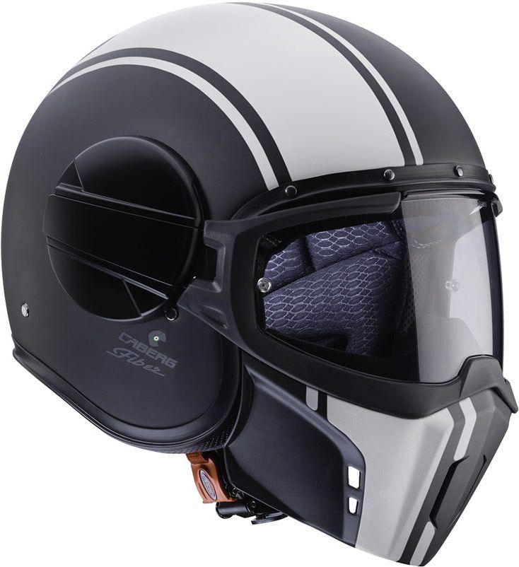 Le casque Caberg Ghost est un jet de type crossover amélioré