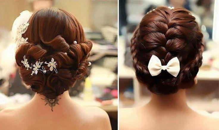 2014 Düğün Saçları ve Topuz Modelleri #hairbun #weddinghair