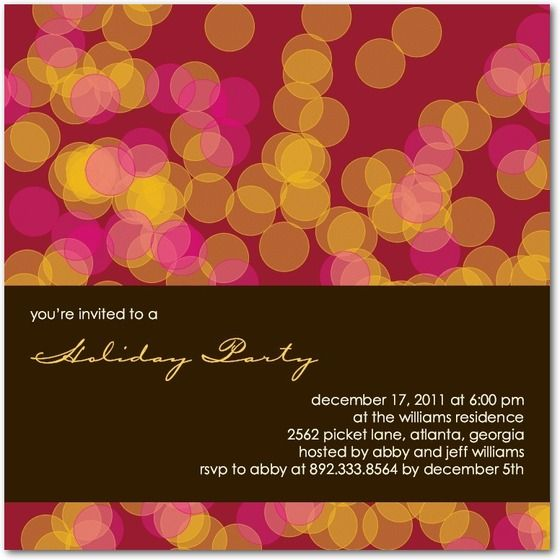 146 best images about Ideal Invitations – Holiday Party Email Invitations