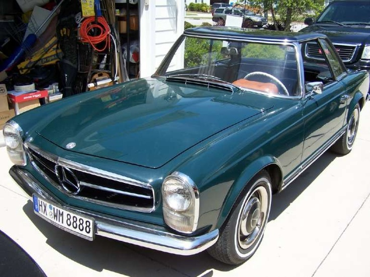 250SL with hard top