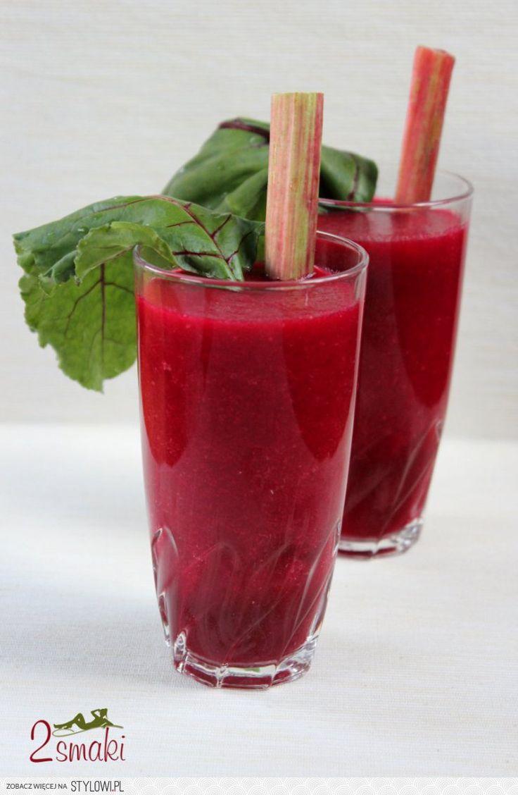 PYSZNY, ZDROWY -  KOKTAJL Z BURAKA!  jabłko burak 2 marchewki łyżka soku z cytryny  posieka nanatka pietruszki
