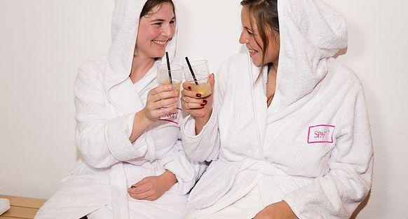 Sparty ist ein einzigartiges Konzept welches Party, Spa, Wellness, Cocktails und Catering verbindet