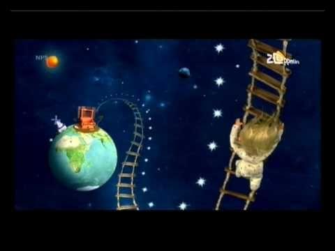Liedje digibord Sesamstraat trappetje naar de maan sesamstraat