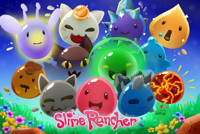 Sketch from Sony | Slime Rancher | Slime rancher game, Slime