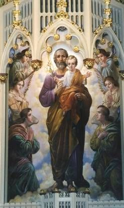 Saint Joseph, pray for us! Love you, patron of our family!