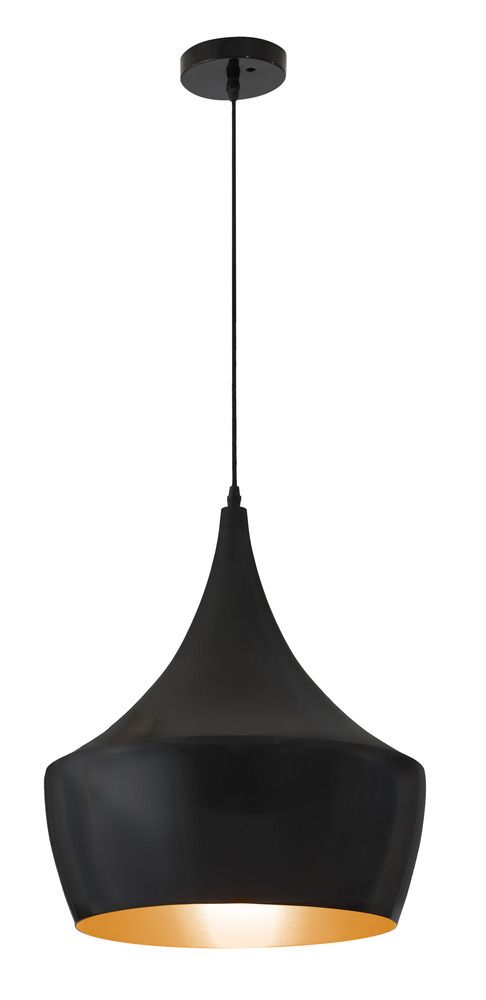 Copper Ceiling Lamp Matte Black - Zuo Modern - $290.00 - domino.com