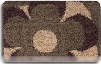 Modern Simplifici Style Anti-slip 31-ch By 47-ch Door M (Yr301-9-3 /Burlywood /1 Flowers)