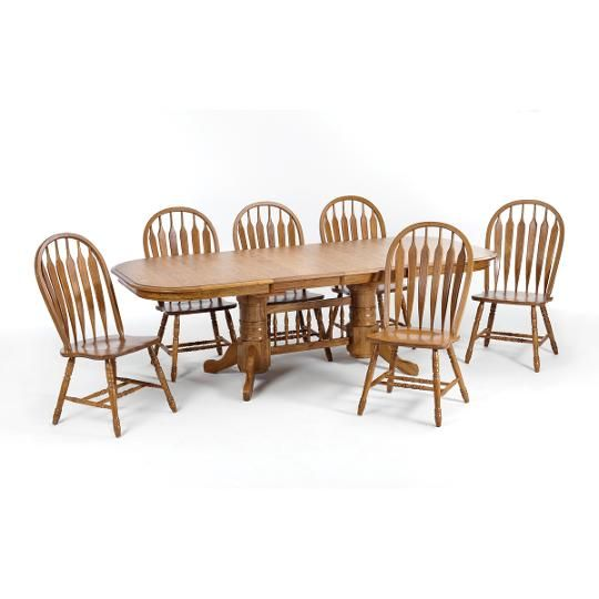 Intercon Table Top, 42 X 96 Oak, Dining Room Table Furniture The Classic Oak  Chestnut Collection From Intercon Is Made From Solid Oak