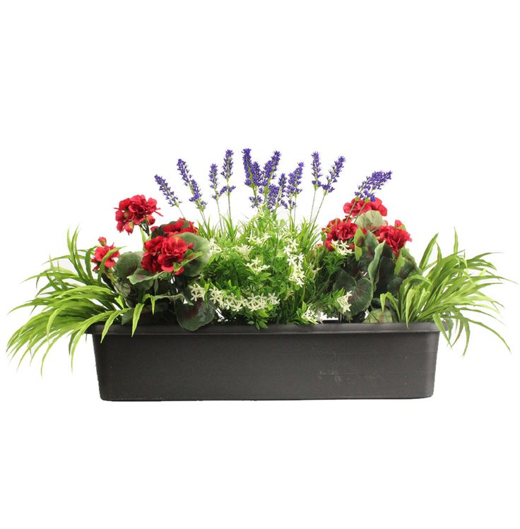 Mixed Flower Window Box   For the Home   Pinterest ...